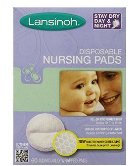 Lansinoh Disposable Nursing一次性防溢乳垫 7.35加元特卖(60片)!