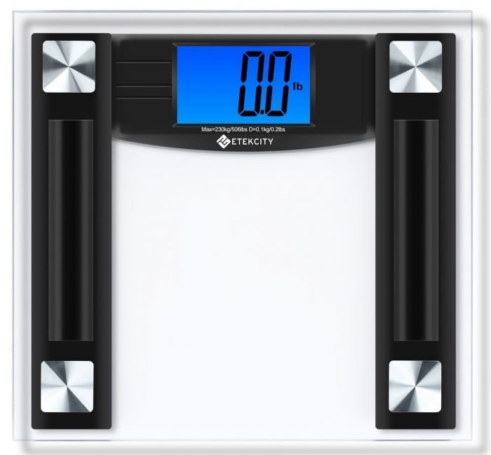 Etekcity 506lb/230kg高精度数字数字电子体重秤 26.99加元特卖!