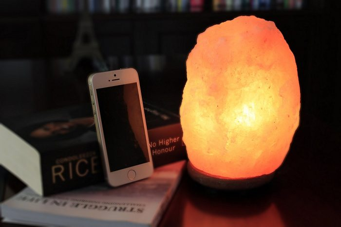 WBM 1001 7英寸喜马拉雅纯天然负离子水晶盐灯4.6折 17.99加元!