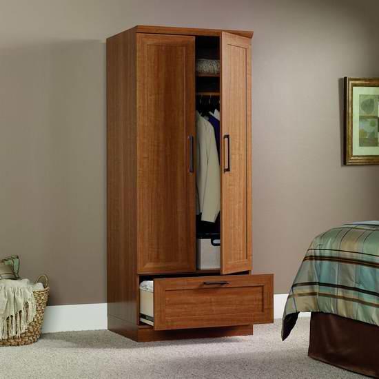 历史新低!Sauder Homeplus 立式衣柜 141.03元限时特卖并包邮!