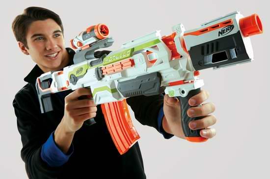 金盒头条:精选24款 NERF blasters 泡沫海绵玩具枪及配件4折起限时特卖!多款历史新低!