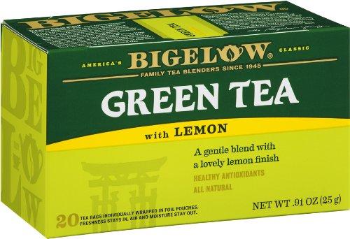 历史新低!Bigelow 全天然柠檬绿茶(6x20包) 16.48加元限时特卖!