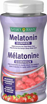 Nature's Bounty 自然之宝 Melatonin 褪黑素软糖(草莓味)60粒装 5.58加元!