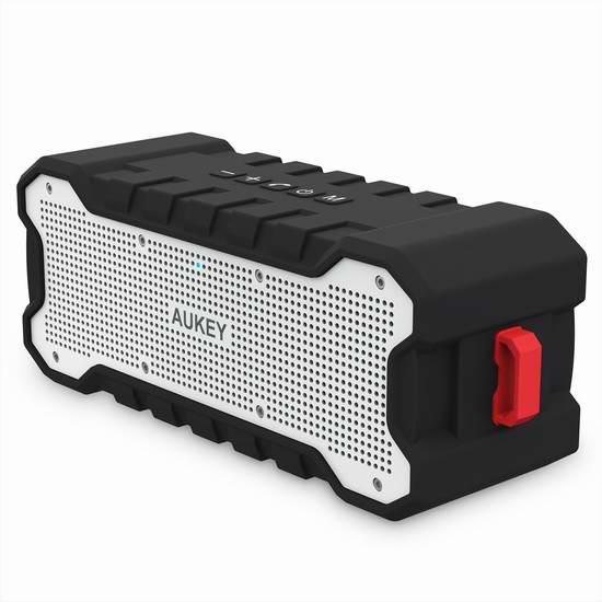 AUKEY SoundTank 便携式无线蓝牙防水音箱 34.99加元限量特卖并包邮!