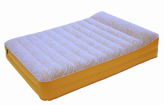 售价大降!历史新低!AirCloud Safari 14英寸Queen充气床垫1.5折 27.92加元限时特卖!