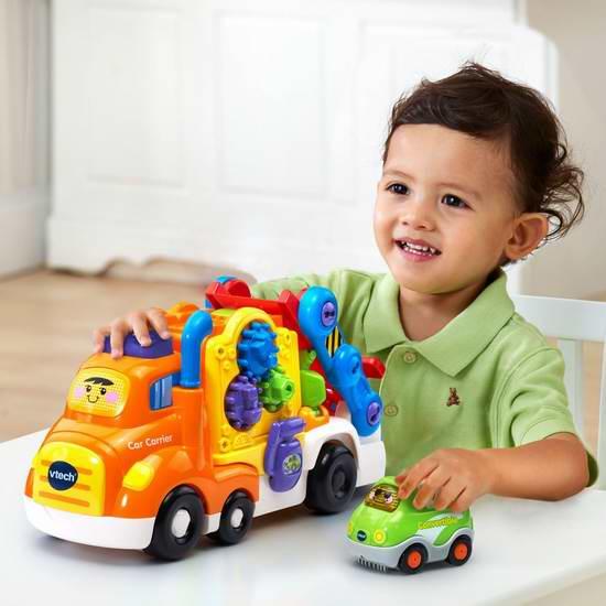 历史新低!VTech Go! Go! Smart Wheels 豪华声光互动运输车 15加元限时特卖!
