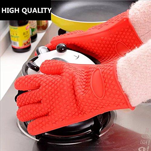 Silcony厨房烤箱/烧烤硅胶手套 11.77加元限量特卖,原价 13.89加元