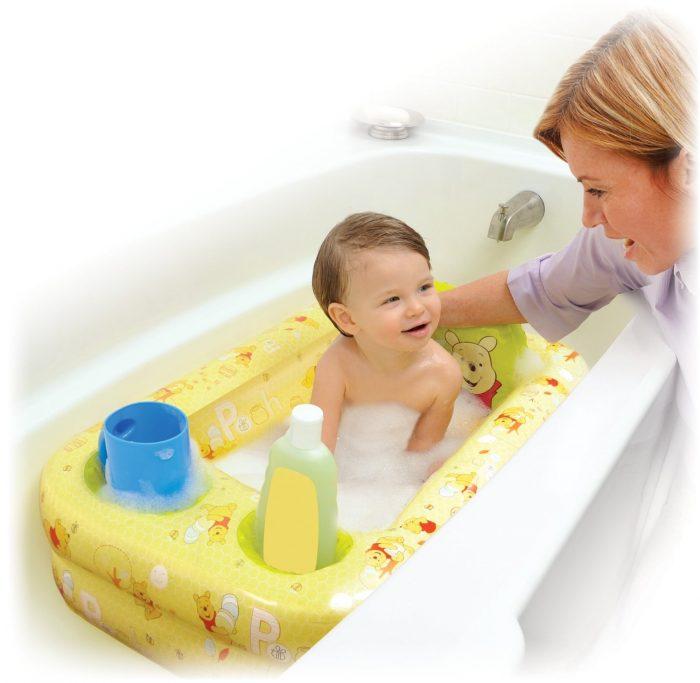 Disney便携式充气浴缸 19.99加元特卖!小熊维尼/公主两款可选!