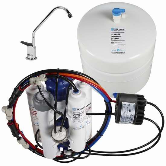 速抢!历史新低!Home Master TMHP HydroPerfection RO 家用反渗透水过滤系统/净水系统4.5折 317.58加元包邮!