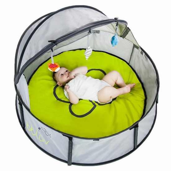 bblüv Nido 二合一 婴儿便携式 室内/户外 旅行床/游戏围栏 66.61加元包邮!