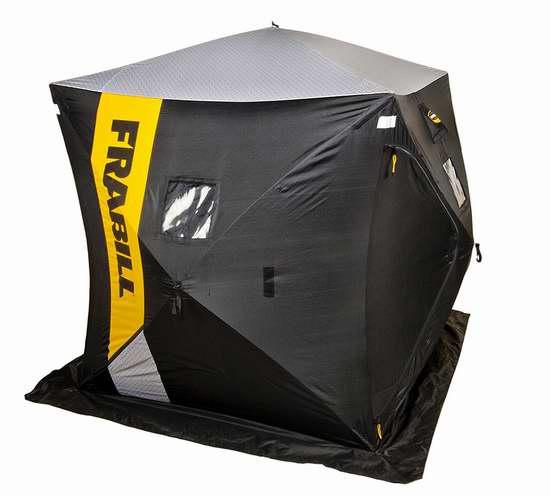 销量冠军!Frabill HQ 200 Hub 6人冰钓帐篷 199.99加元包邮!