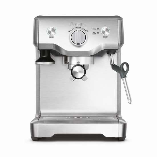 销量冠军!Breville 铂富 BES810BSSXL Duo Pro 半自动意式浓缩咖啡机 399.99加元,原价 469.99加元,包邮