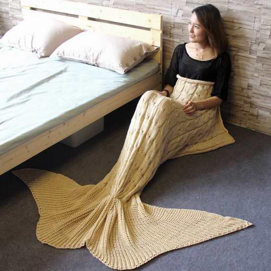 历史新低!Becoler 超保暖(成人儿童)美人鱼睡袋 8.49-9.99加元限量特卖并包邮!三色可选!