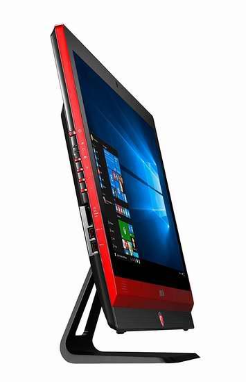 历史新低!MSI 微星 24GE 2QE 4K-013US 23.6英寸桌面式触控屏游戏一体机5.5折 1310.78加元限量特卖并包邮!