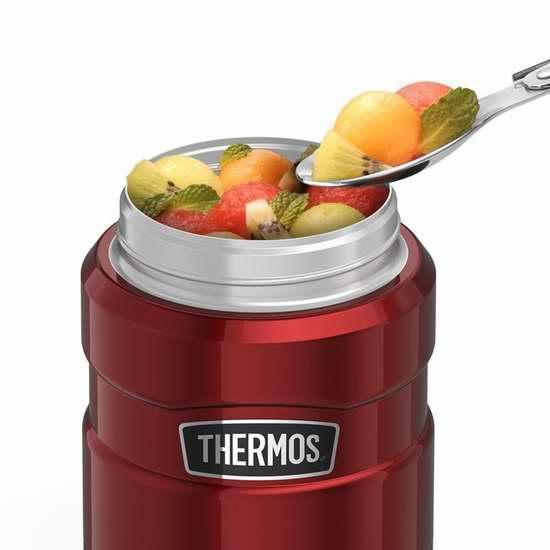 THERMOS 膳魔师 450ml 经典帝王 不锈钢系列 午餐保温焖烧杯 21.99加元!