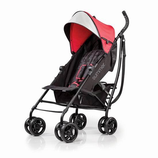 售价大降!历史新低!Summer Infant 3D Lite 超轻婴儿推车5折 64.97加元包邮!2色可选!
