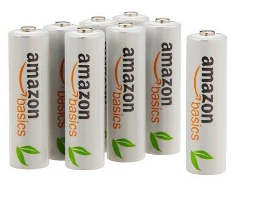 AmazonBasics AAA 800 mAh 可充电镍氢电池12只装6.3折 15.8加元!