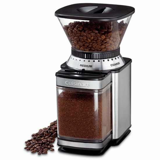 CUISINART DBM-8C 全自动咖啡豆研磨机 59.99加元包邮!