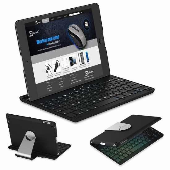 JETech iPad Mini 1/2/3 无线蓝牙键盘 33.99加元限量特卖并包邮!