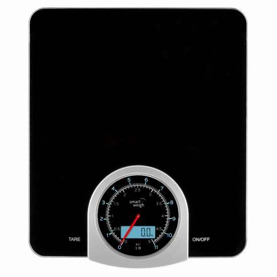白菜速抢!Smart Weigh 数字/机械 双模式 厨房秤1.5折 8.49加元限量特卖!