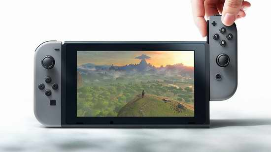 Nintendo 任天堂 Switch 便携式游戏机 399.99加元包邮!