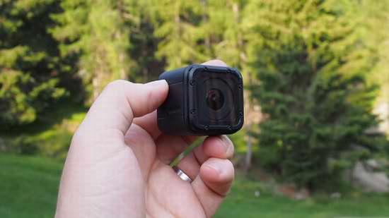 近史低价!市面最轻巧的 GoPro HERO Session 轻巧版迷你高清运动摄像机6.3折 175.74加元包邮!