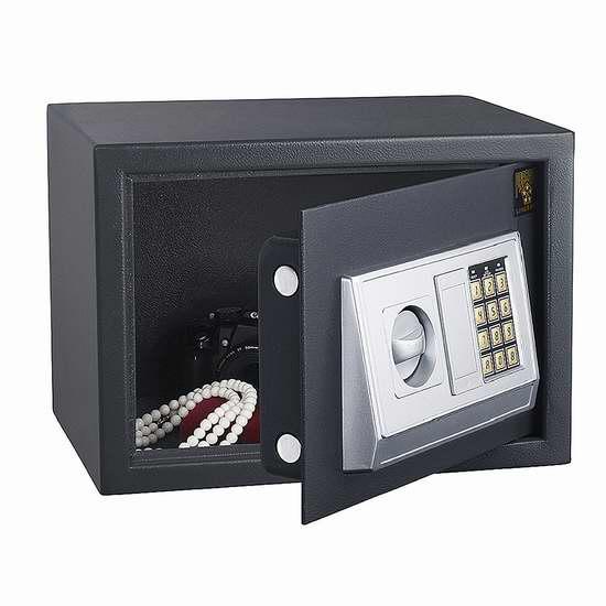 Paragon Lock and Safe 7825 电子密码保险箱2.7折 60.63加元限时特卖并包邮!