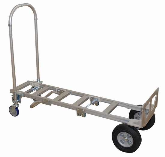 售价大降!历史新低!Wesco 219999 Spartan 高级铝合金两用推车/拖车2.5折 94.16加元限时清仓并包邮!