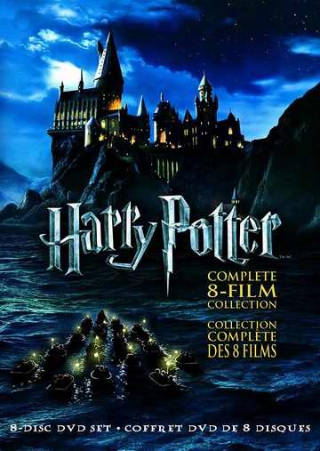 《Harry Potter 哈利波特》DVD/蓝光影碟全集 35.99-41.99加元包邮!