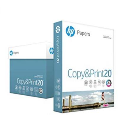 历史新低!HP Everyday 高质量打印复印多用途纸(6包 2400张) 25.92加元!