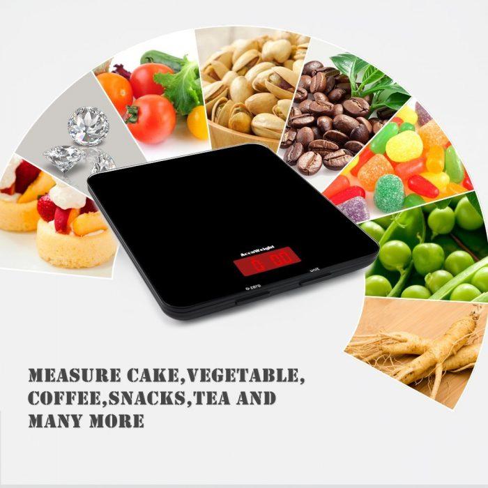 Accuweight 高精度数字厨房秤 14.39加元!