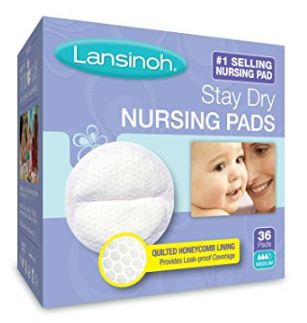 Lansinoh Disp.一次性防溢乳垫 36张 6.37加元