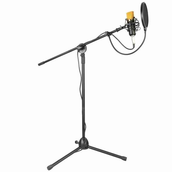 Neewer NW-700 专业录音麦克风+支架套装 42.99加元限量特卖并包邮!