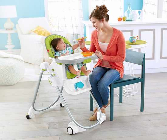 Fisher-Price 费雪 Total Clean 四合一成长型婴幼儿高脚餐椅99.97加元限时特卖并包邮!