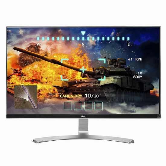 历史新低!LG 27UD68-W UHD 27英寸4K超高清显示器 6.1折 329.6加元限时特卖并包邮!