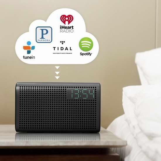 白菜价!GGMM 古古美美 E3 WiFi无线蓝牙智能音箱1.3折 32.99加元包邮!2色可选!