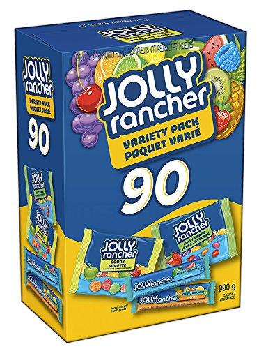 历史新低!Jolly Rancher 万圣节糖果(90pcs)5折 11.26加元限时特卖!