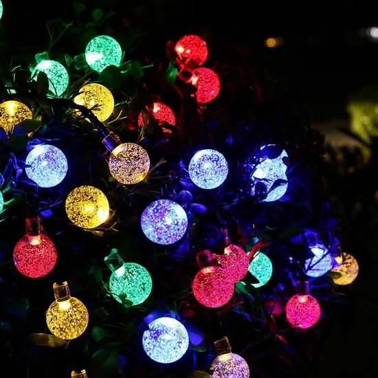 Qedertek 30 LED 防水太阳能 室内/户外 装饰灯 6.34-7.99加元限量特卖!3色可选!
