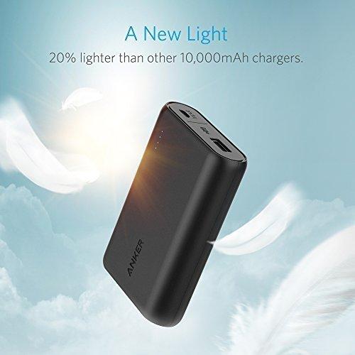 金盒头条:Anker PowerCore 10000mAh 超小便携式移动电源/充电宝6.5折 24.74加元!