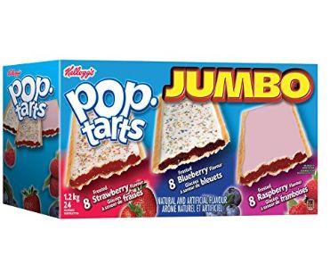 Kellogg's PopTarts Jumbo 果酱馅饼 5.97加元(24块)