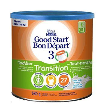 Nestlé Good Start 3 益生菌配方奶粉 14.22加元,原价 19.97加元