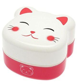 萌萌哒!Kotobuki 280-218 两层Kitty猫便当盒 22.31加元,原价 25.9加元