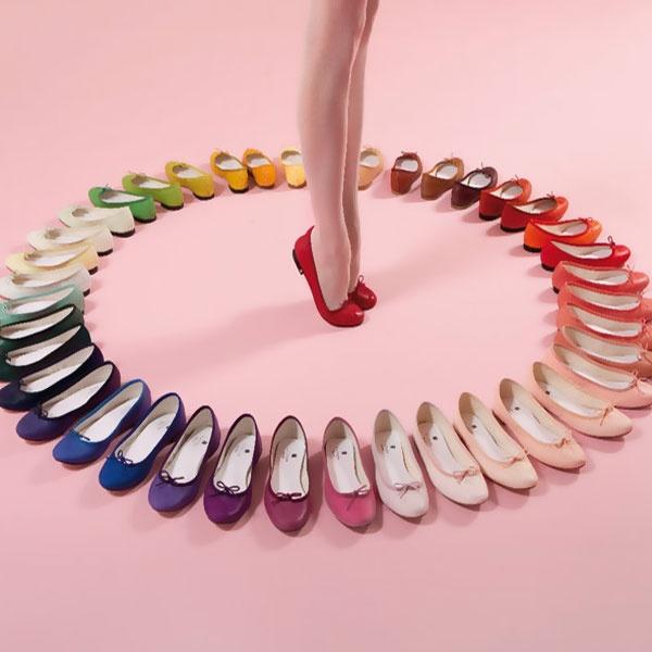 优雅到没朋友啊!SSENSE精选多款 Repetto芭蕾舞鞋,平底鞋等3.6折 139加元起特卖!
