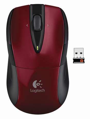Logitech 罗技 M525 无线激光超精准光电鼠标 7折 29.99加元!三色可选!