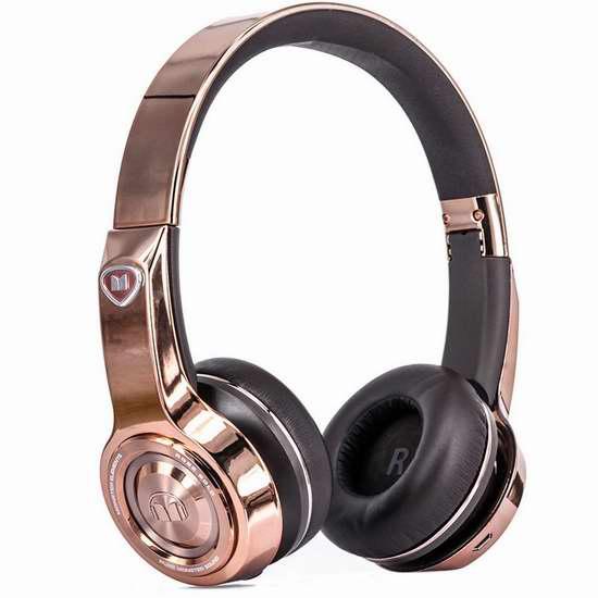 历史最低价!Monster 魔声 Elements 蓝牙无线头戴式耳机 149.95加元限时特卖并包邮!两色可选!
