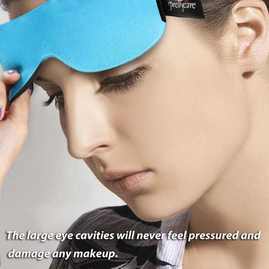 PrettyCare 3D 记忆海绵睡眠眼罩2件套 16.95加元限量特卖!