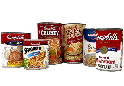 精选 Campbell's 金宝汤 速食汤、速食罐头、方便面 1.48加元起特卖!
