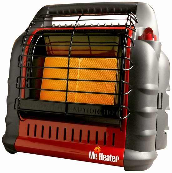 历史新低!Mr. Heater F274865 无排气口 室内/户外 便携式燃气红外加热器4折 89.95加元限时特卖并包邮!