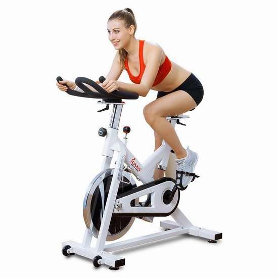 近史低价!Sunny SF-B1110 动感单车家用静音健身自行车5.2折 269.77加元包邮!