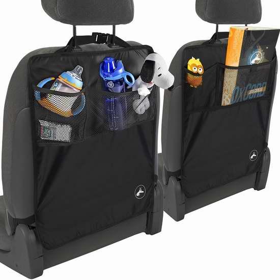 OxGord 2017改良版 汽车座椅防脏防踢垫2件套 9.95加元限量特卖!